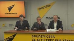 Conferință de presă susținută de viceprimarul orașului Orhei, Viorel Dandara, cu ocazia prezentării mai multor aspecte importante