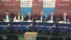 """Dezbateri publice cu tema """"Trăsăturile specifice ale prezidențialelor-2016: viziunea partidelor parlamentare"""""""
