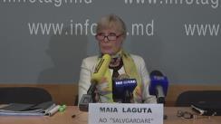 """Conferință de presă susținută de Maia Laguta cu tema """"Crimele comise de Union Fenosa sub conducerea Silviei Radu și lipsa reacției din partea Procuraturii și judecătoriilor"""""""