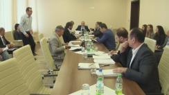 Ședința Comisiei economie, buget și finanțe din 21 septembrie 2016