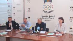 Conferința de presă dedicată evenimentului Olympic Eco Fest 2016