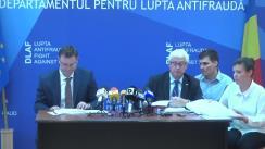 Declarații de presă susținute de Giovanni Kessler, director general al Oficiului European de Luptă Antifraudă (OLAF) și procurorul, Marius Cătălin Vartic, șeful Departamentului pentru lupta antifraudă – DLAF