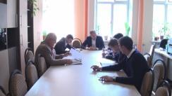 Ședința Comisiei juridice, pentru ordine publică și activitatea administrației publice locale a Consiliului municipal Chișinău