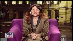 """Emisiunea """"Ora de veghe"""", cu Nicoleta Savin"""