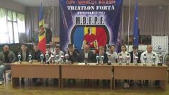 Conferință de presă dedicată evoluției sportivilor moldoveni la Campionatul European de powerlifting