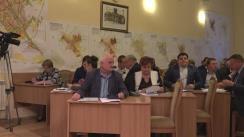 Ședința săptămânală a serviciilor primăriei Chișinău din 26 septembrie 2016