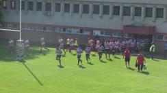 Meciul de Rugby între CSA Steaua București - CS Dinamo București. Cupa Regelui 2016