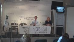 Dezbateri organizate de Centrul de Investigații Jurnalistice cu candidații în alegerile din 30 octombrie: Marian Lupu (PDM), Mihai Ghimpu (PL) și Iurie Leancă (PPEM)