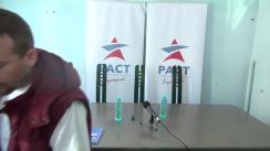 Lansarea candidaților susținuți de PACT pentru circumscripția București