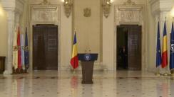 Declarație de presă susținută de Președintele României, Klaus Iohannis, după ședința Consiliului Suprem de Apărare a Țării din 27 septembrie 2016