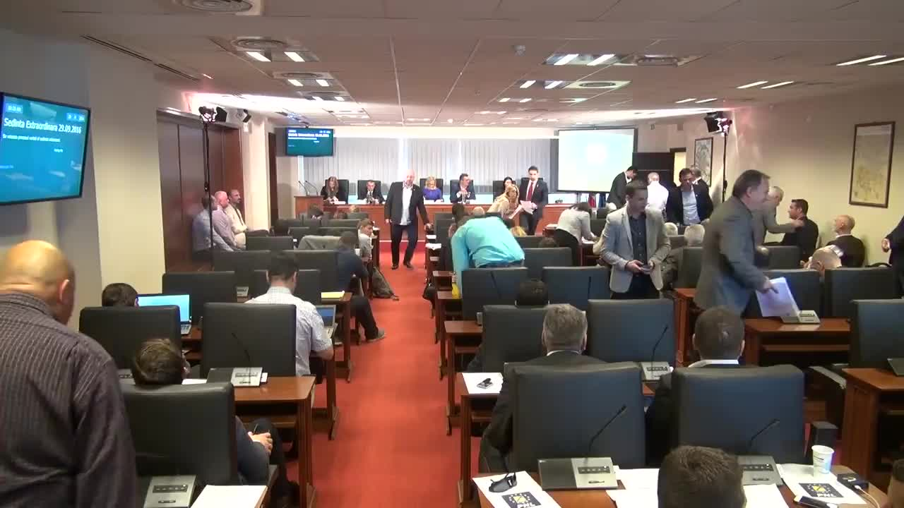 Ședința Consiliului General al Municipiului București din 29 septembrie 2016