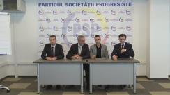 Opinia Partidului Societății Pregresiste despre Alegerile Prezidențiale și răspunsul PSP, de ce Duminica trecută a fost organizat Congresul PSP la Palatul Republicii?