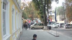 Acțiune de protest organizată de membrii Partidului Comuniștilor din Republica Moldova față de hotărârea neconstituțională din 4 martie