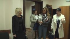Grupul de inițiativă pentru susținerea candidatului Partidului Dreapta la funcția de Președinte al Republicii Moldova, Ana Guțu, depune la CEC listele de subscripție cu semnăturile colectate