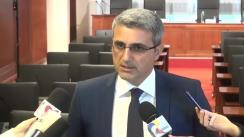 Declarații de presă susținute de Robert Turcescu