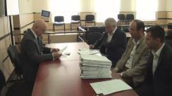Grupul de inițiativă pentru susținerea candidatului independent la funcția de Președinte al Republicii Moldova, Ion Dron, depune la CEC listele de subscripție cu semnăturile colectate