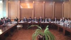 Masa rotundă organizată de Sindicate, cu participarea Guvernului și Patronate, prilejuită de Ziua Mondială a Muncii Decente