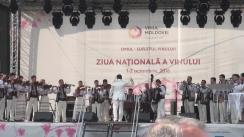 Ceremonia de deschidere a sărbătorii Ziua Națională a Vinului, ediția a XV-a