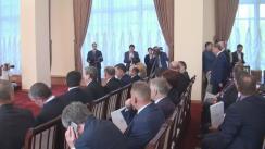 Conferință de presă susținută de prim-ministrul Republicii Moldova, Pavel Filip, și prim-ministrul Republicii Belarus, Andrei Kobeacov