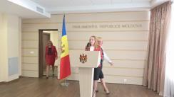 Declarația fracțiunii PCRM după ședința Parlamentului Republicii Moldova din 3 octombrie 2016
