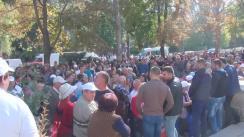 Lansarea campaniei electorale oficiale a candidatului la funcția de Președinte al Republicii Moldova, Inna Popenco