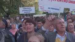 Protest în susținerea Primarului de Orhei, Ilan Șor