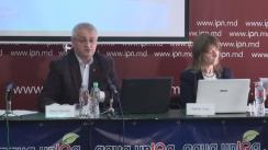 """Conferință de presă cu tema """"Monitorizarea mass-mediei în perioada electorală: prezentarea raportului nr. 1 (15-29 septembrie 2016)"""""""