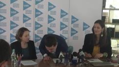 Conferință de presă susținută de Nicușor Dan privind lansarea programului politic al partidului USR