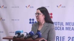 Declarațiile Alinei Russu după Ședința Comisiei Electorale Centrale din 4 octombrie 2016