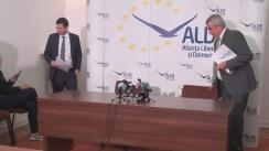 Conferință de presă susținută de copreședinții ALDE Călin Popescu-Tariceanu și Daniel Constantin