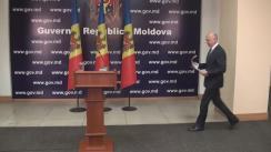Declarații de presă după întâlnirea prim-ministrului Pavel Filip cu conducătorii companiilor farmaceutice din Republica Moldova