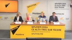 """Briefing de presă susținut de reprezentanții Partidului Șor cu tema """"Noul program și plan de acțiuni al Partidului Șor"""""""