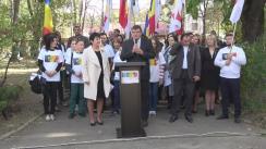 Lansarea în campania electorală pentru prezidențialele din 30 octombrie 2016 a candidatului Partidului unionist DREAPTA, Ana Guțu