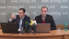 """Conferință de presă organizată de Centrul de Cercetare Sociologică din Republica Moldova cu tema """"Evoluția și comportamentul electoral din Republica Moldova. Sondaj de opinie"""""""