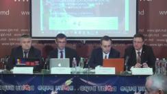 """Conferință de presă susținută de avocații Veaceslav Țurcan și Maxim Belinschi cu tema """"Avocații drepturilor omului în pericol. Atmosfera impunității vs. Reforma justiției în Moldova"""""""