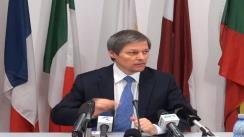 Conferință de presă suținută de Dacian Cioloș, comisarul european pentru agricultură și dezvoltare rurală