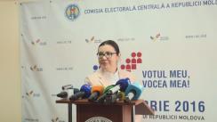 Declarațiile Alinei Russu după Ședința Comisiei Electorale Centrale din 14 octombrie 2016