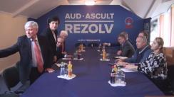 Întâlnirea candidatului la funcția de președinte al Republicii Moldova din partea PDM, Marian Lupu, cu savanții și membrii Academiei de Științe din Moldova