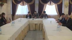 Masă rotundă pe teme de securitate economică națională cu candidații la funcția de șef al statului, organizată la Comrat