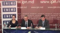 """Conferință de presă organizată de Misiunea de Monitorizare a Alegerilor din cadrul Rețelei Europene a Organizațiilor de Monitorizare a Alegerilor cu tema """"Lansarea Misiunii cu privire la alegerile prezidențiale 2016"""""""