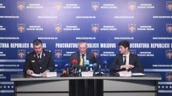 """Conferință de presă organizată de Procuratura Generală de prezentare a detaliilor vizând investigațiile în cazul """"Gorbunțov"""""""