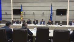 Ședința platformei parlamentare de consultare și control parlamentar pentru realizarea politicii de reintegrare a Republicii Moldova