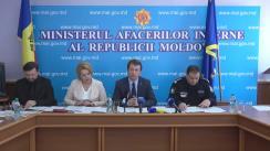Conferință de presă privind prezentarea exemplelor de voluntariat pentru implementarea legislației privind controlul tutunului