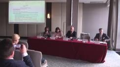 """Conferința """"Resursele umane - cea mai mare provocare pentru proiectele actuale și de viitor în domeniul nuclear"""""""