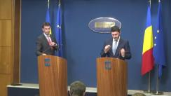 Conferință de presă după ședința Guvernului României din 19 octombrie 2016