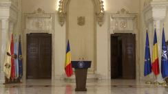Declarație de presă susținută de președintele României, Klaus Iohannis