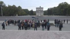 Acțiune de protest organizată de Asociația Micului Business