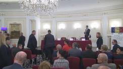 """Dezbaterea """"România: oportunități de investiții într-o economie globală plină de provocări"""""""