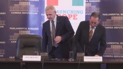 Conferință de presă susținută de Liviu Dragnea, președintele PSD, și Gianni Pitella, președintele Grupului S&D din Parlamentul European