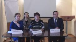 Conferință de presă susținută de Delegația Grupului PPE după vizita la Chișinău